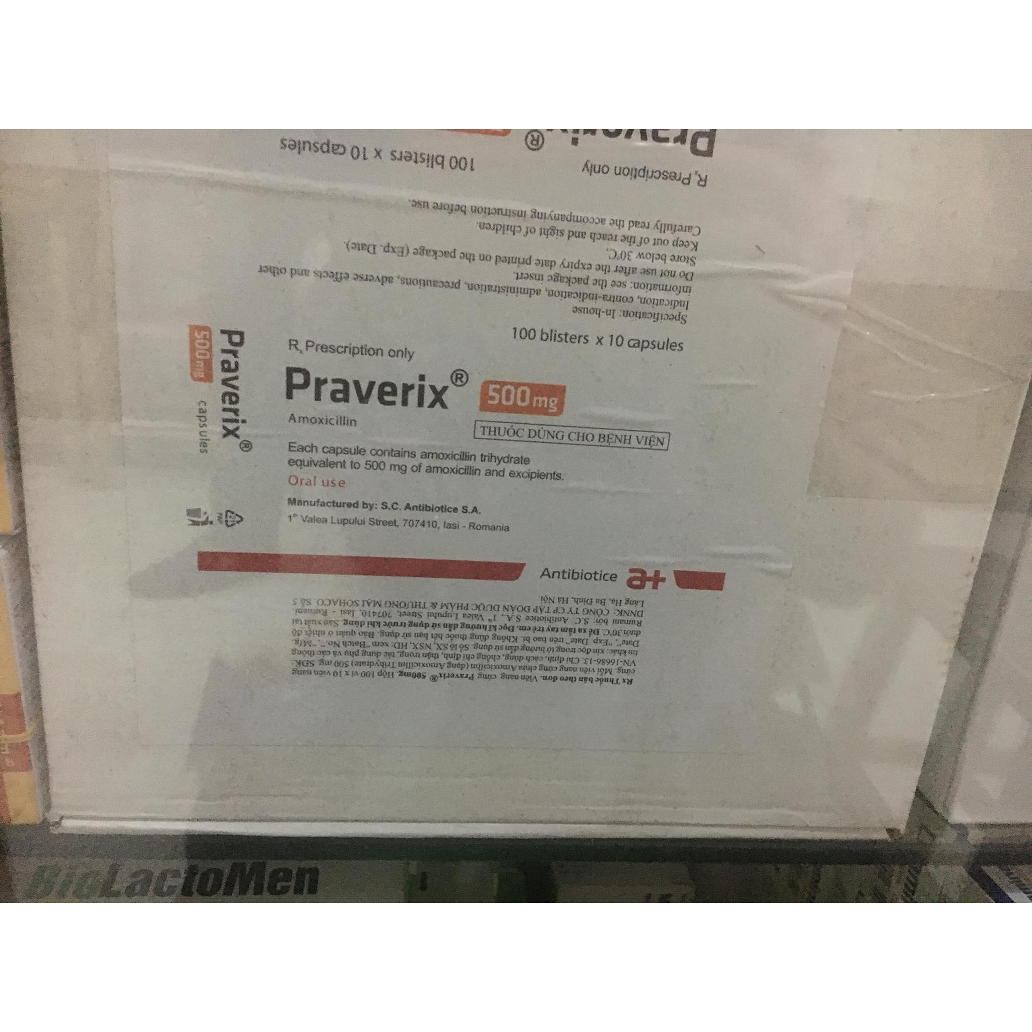 Praverix 500mg
