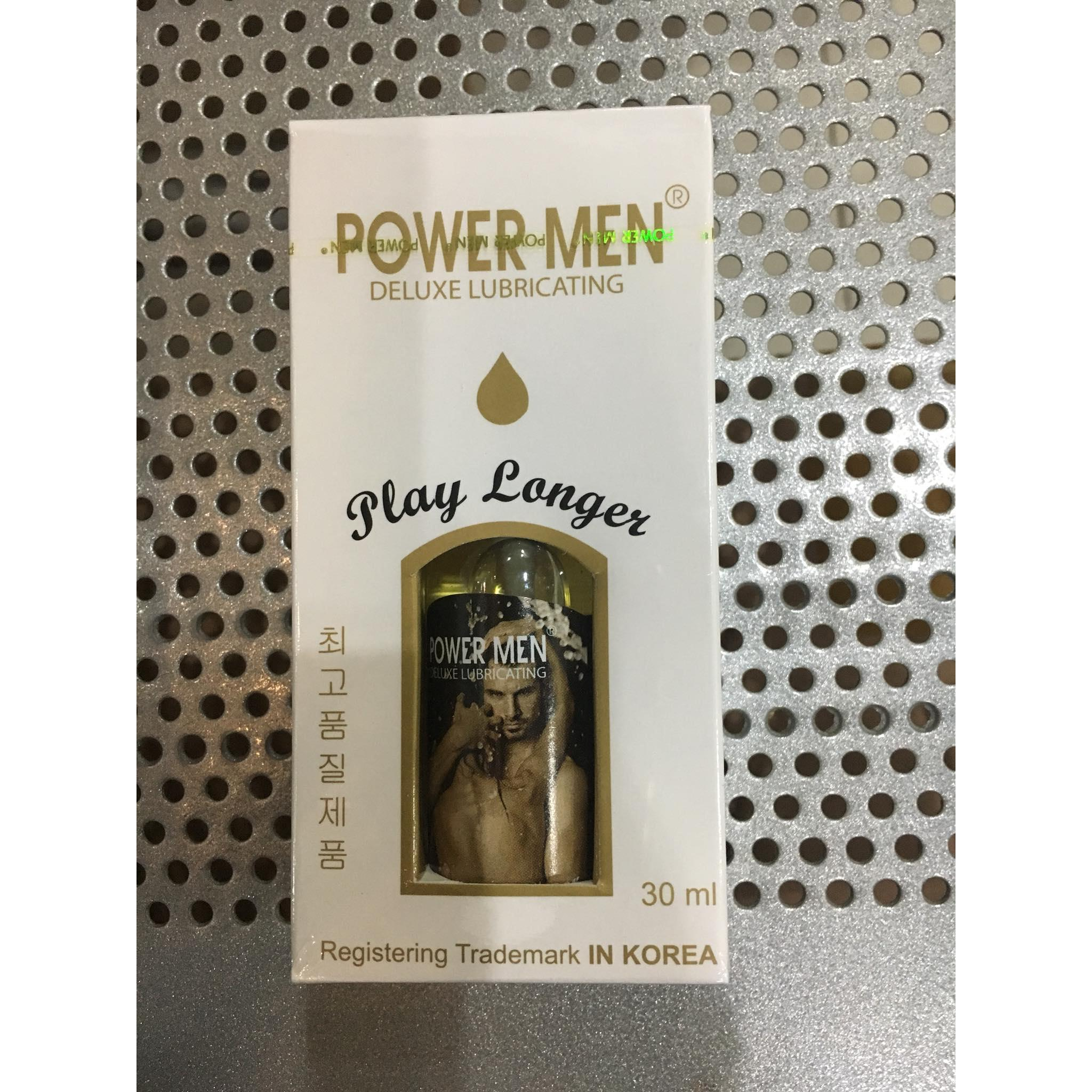 Power Men Play Longer 30ml