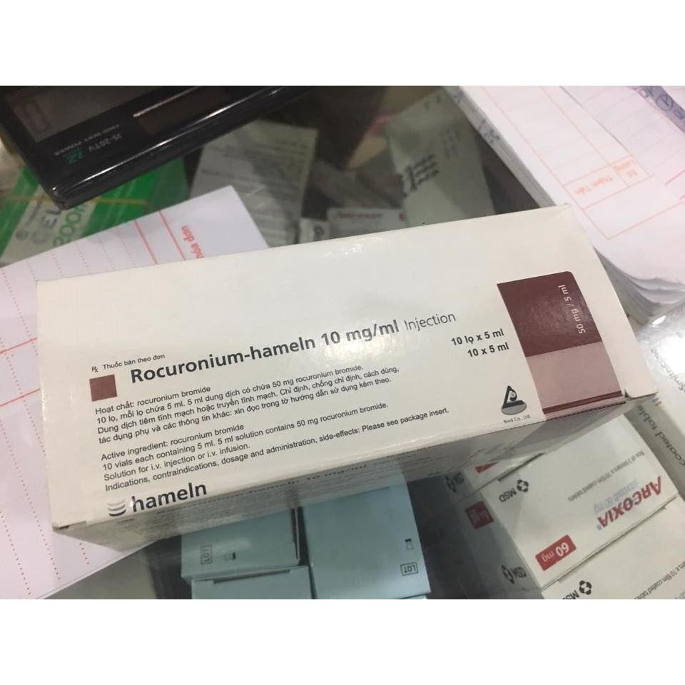 Rocuronium Hameln 10mg/ml