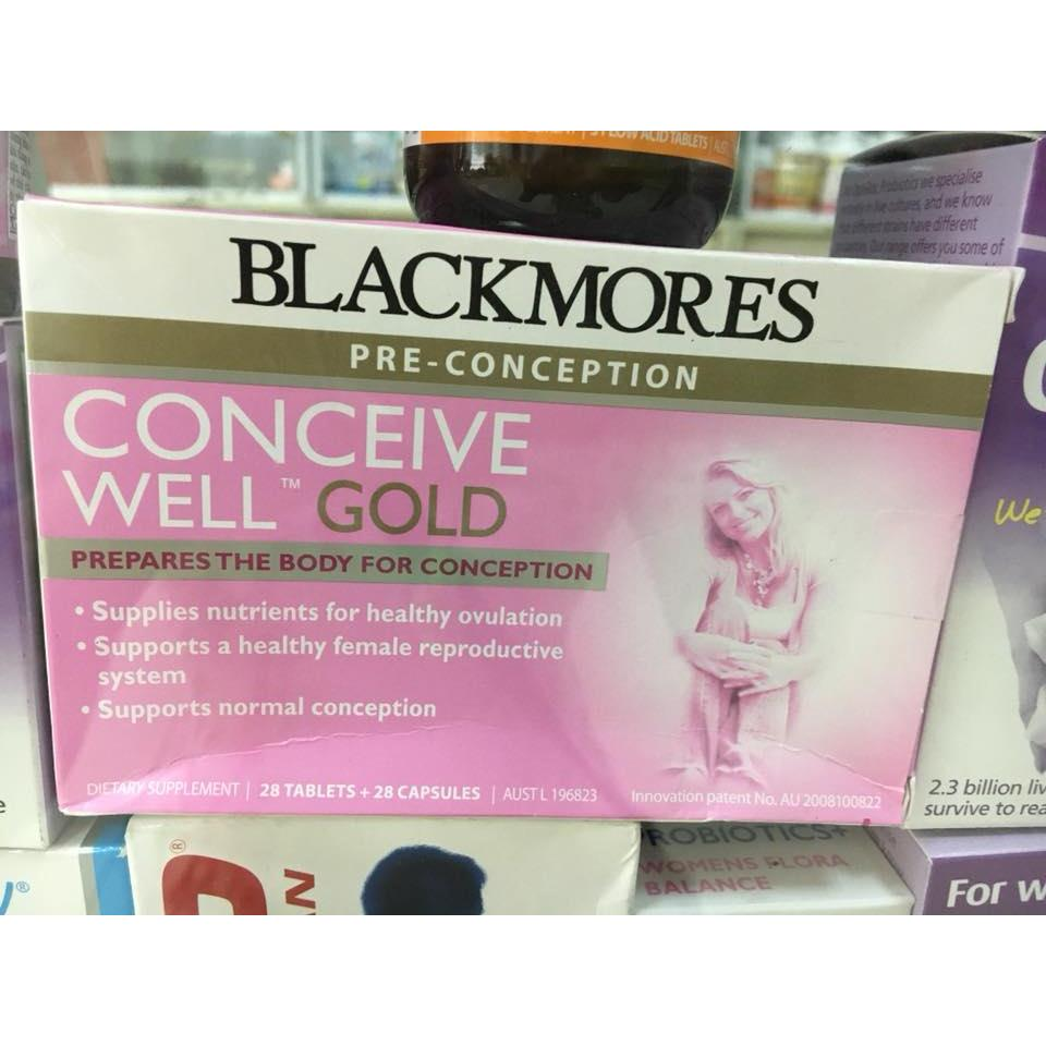 Blackmores Conceive Well™ Gold (56 viên)