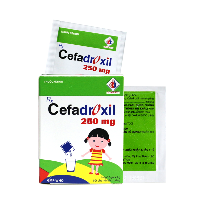 Cefadroxil 250mg Domesco