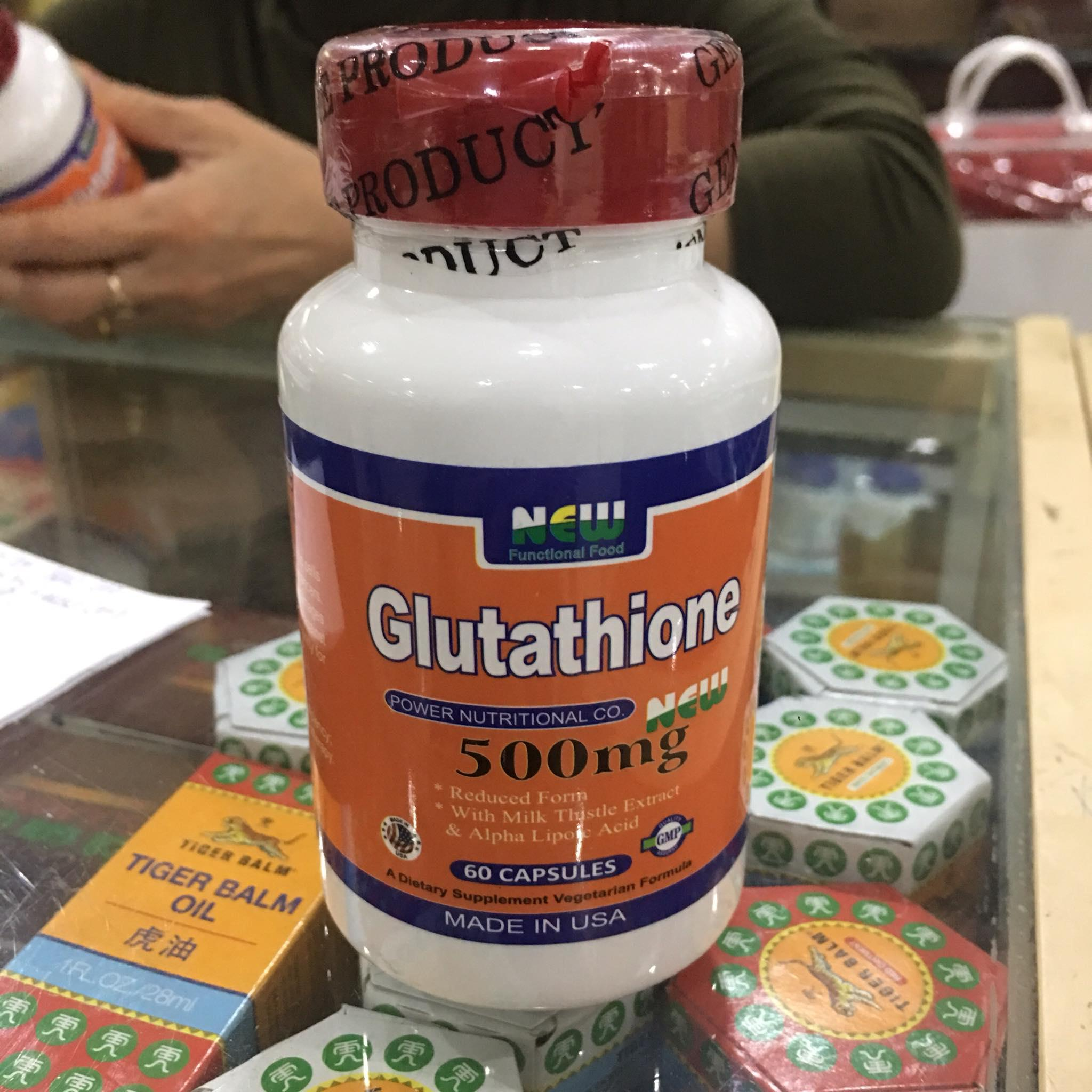 Glutathion New 500mg - 60 viên