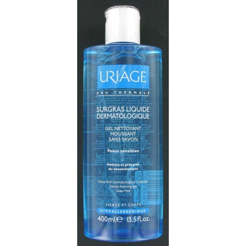 Sữa rửa mặt Uriage Surgras liquide dermatologique 400ml