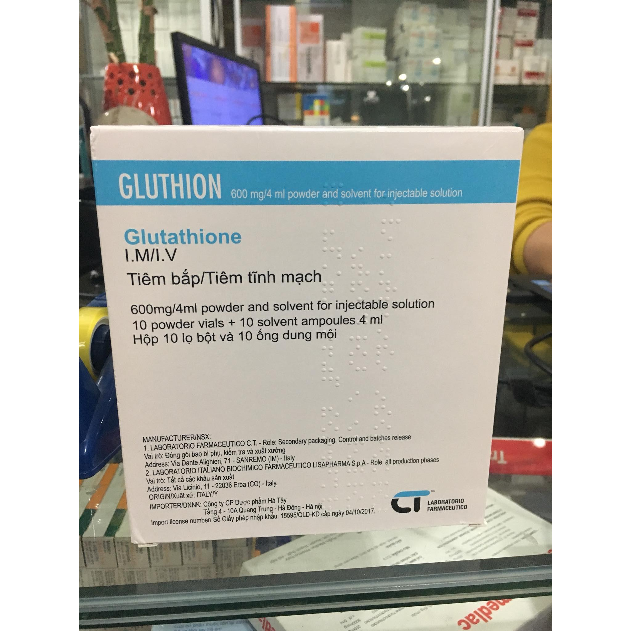 Gluthion 600mg