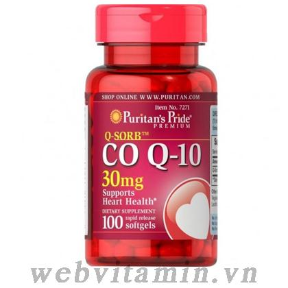 Co Q10 30mg 100 viên Puritan's Pride
