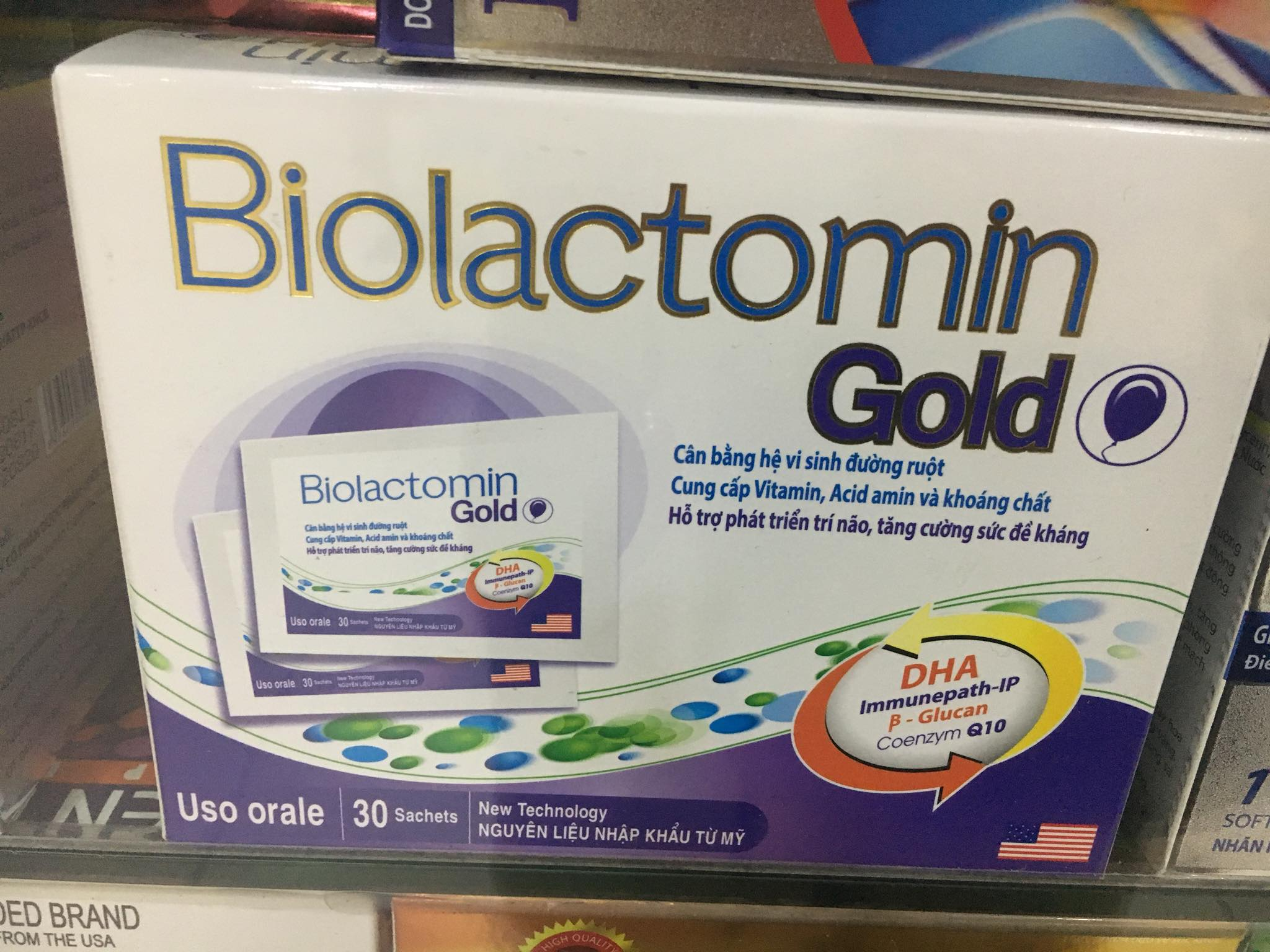 Biolactomin Gold