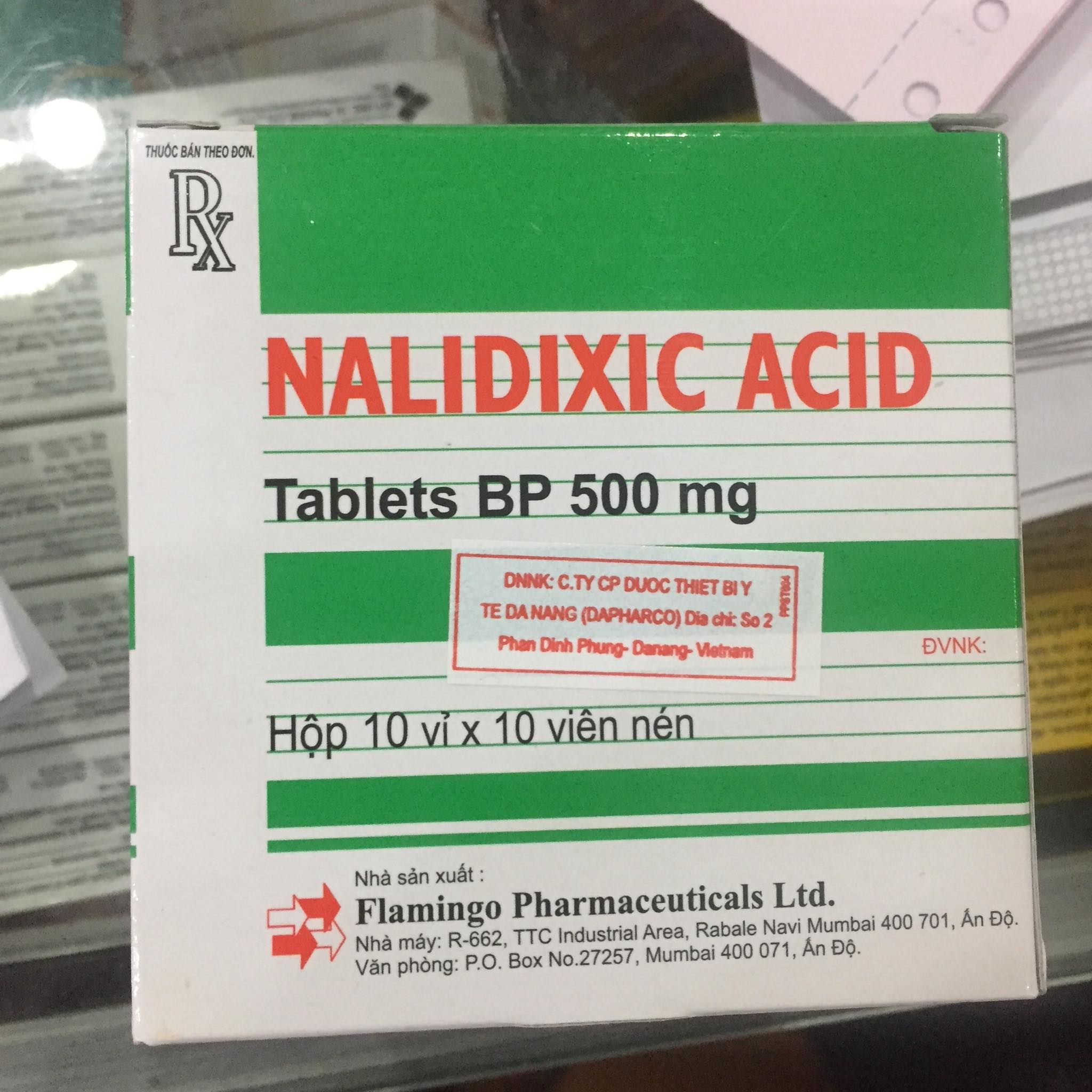 Nalidixic Acid 500mg