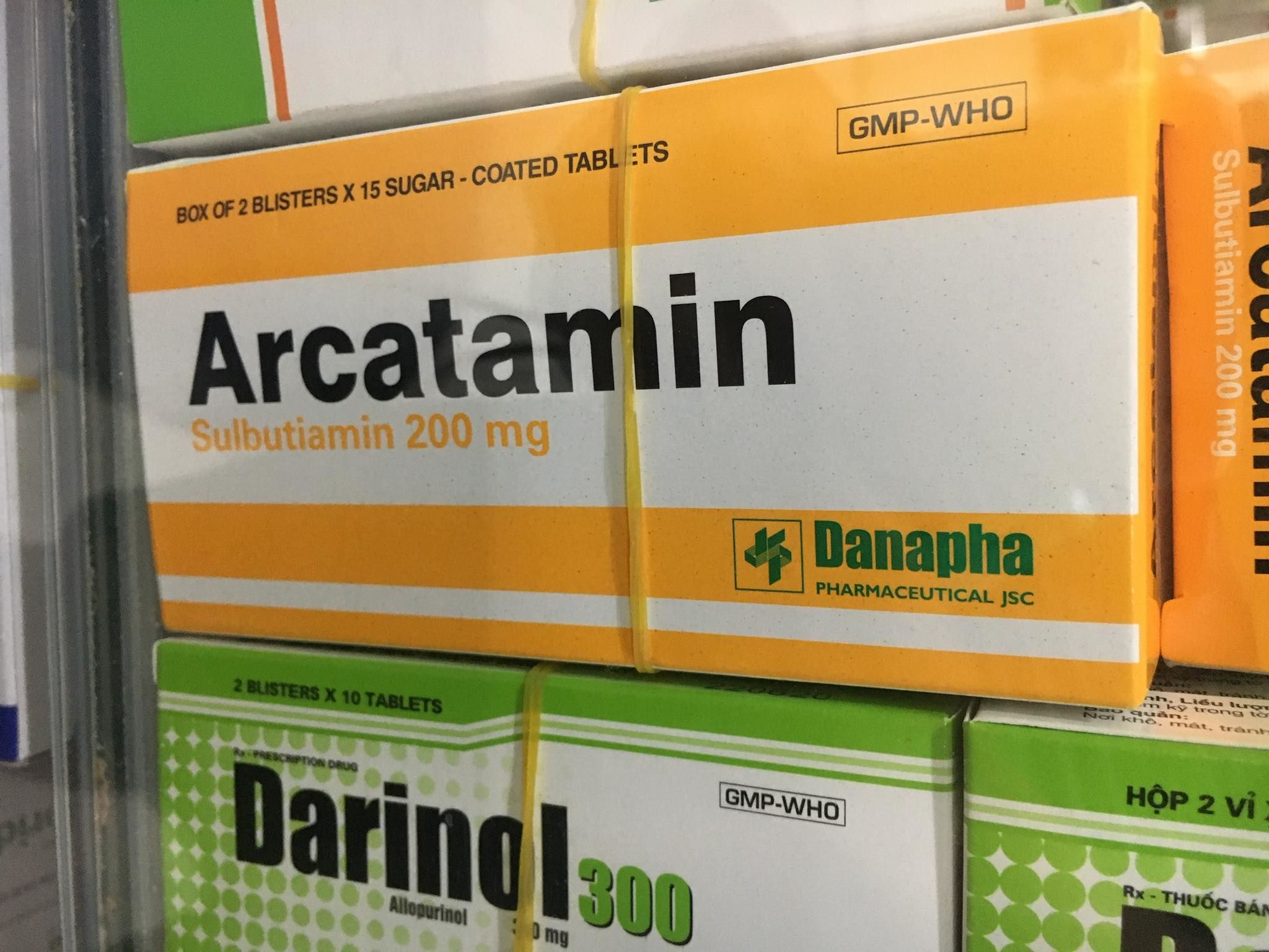 Arcatamin 200mg Danapha