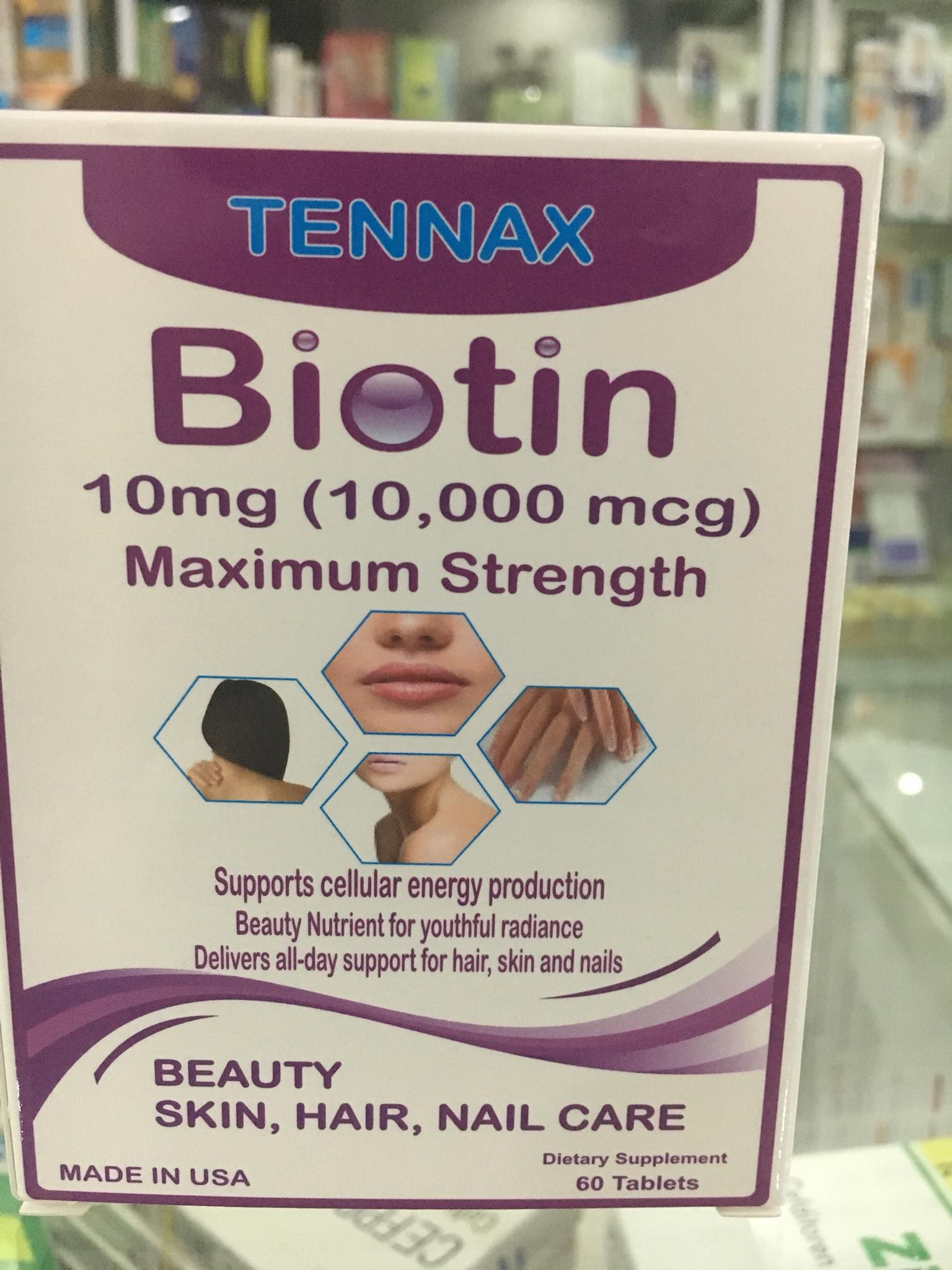 Biotin Tennax 10mg