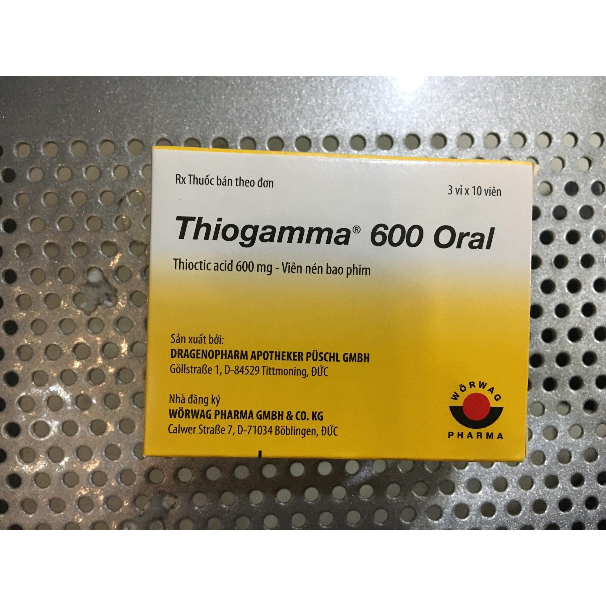 Thiogamma 600mg (30 viên)