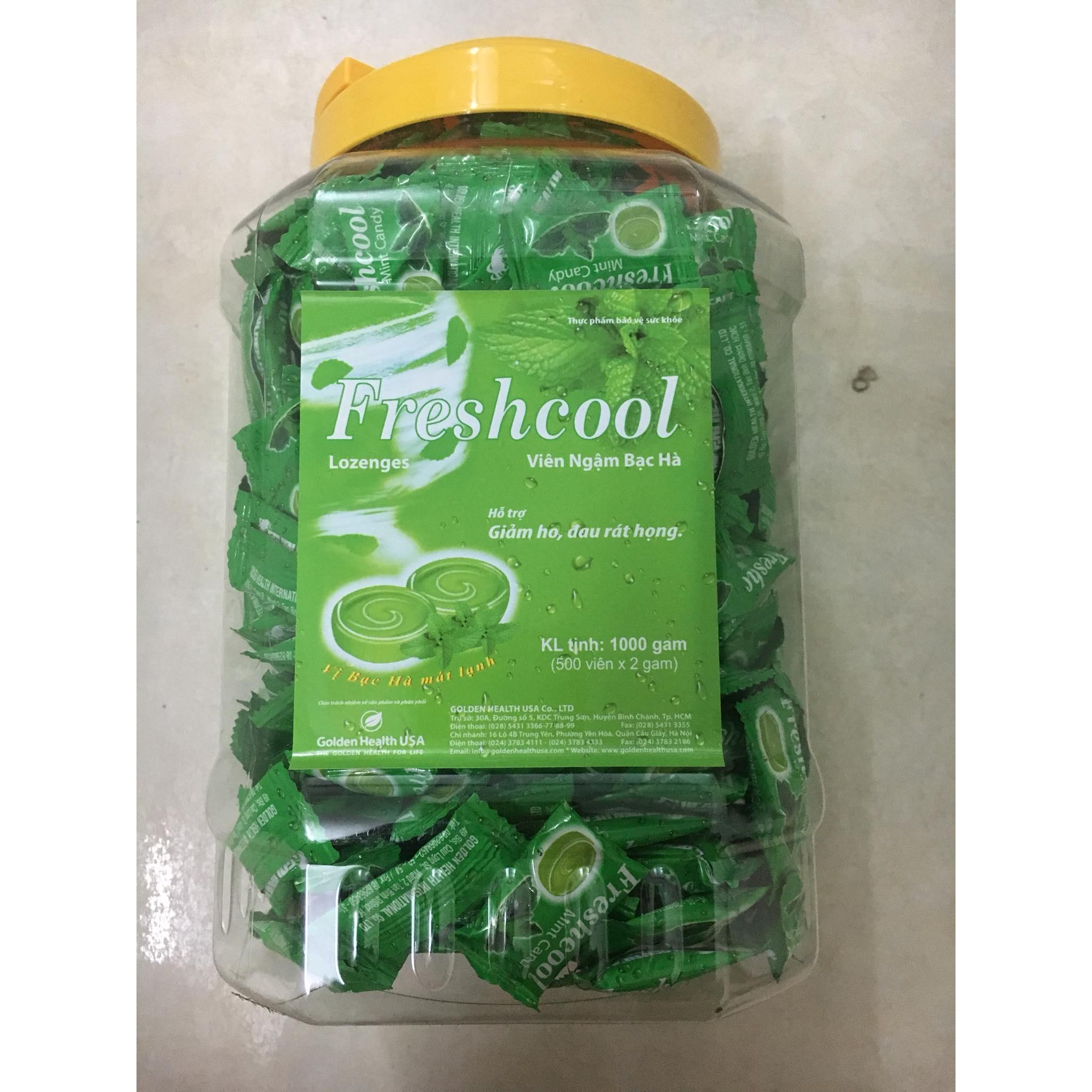 Kẹo bạc hà Freshcool 500 viên