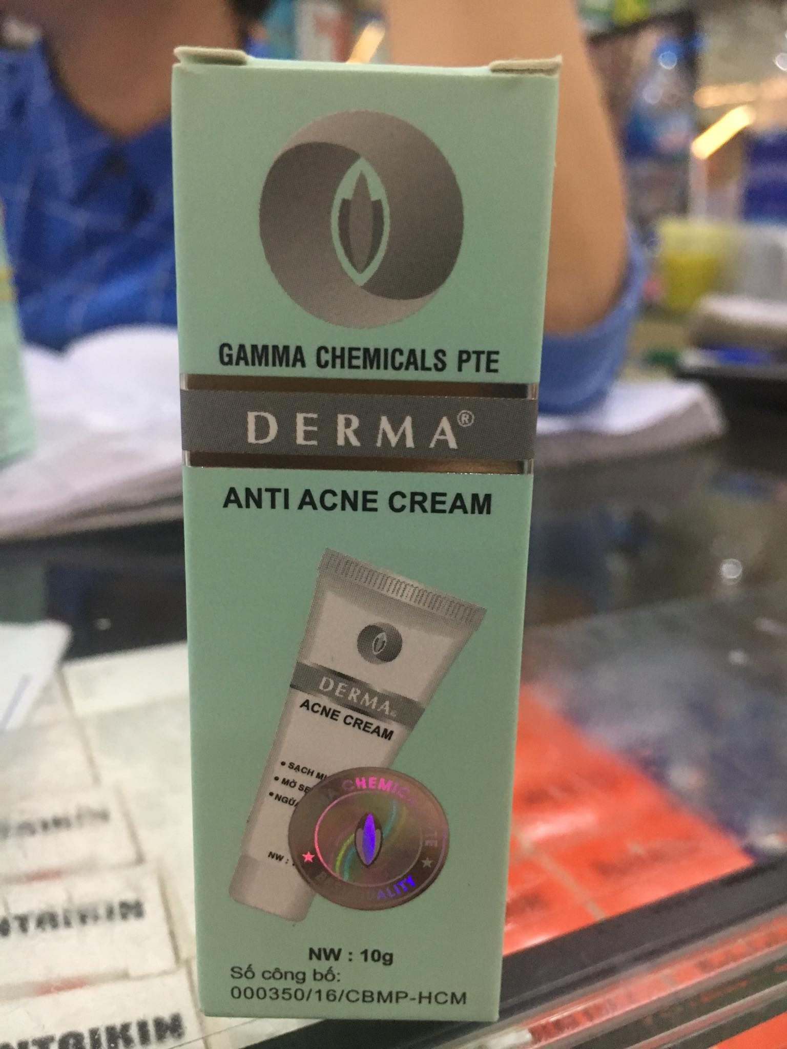 Derma Anti Acne Cream 10g