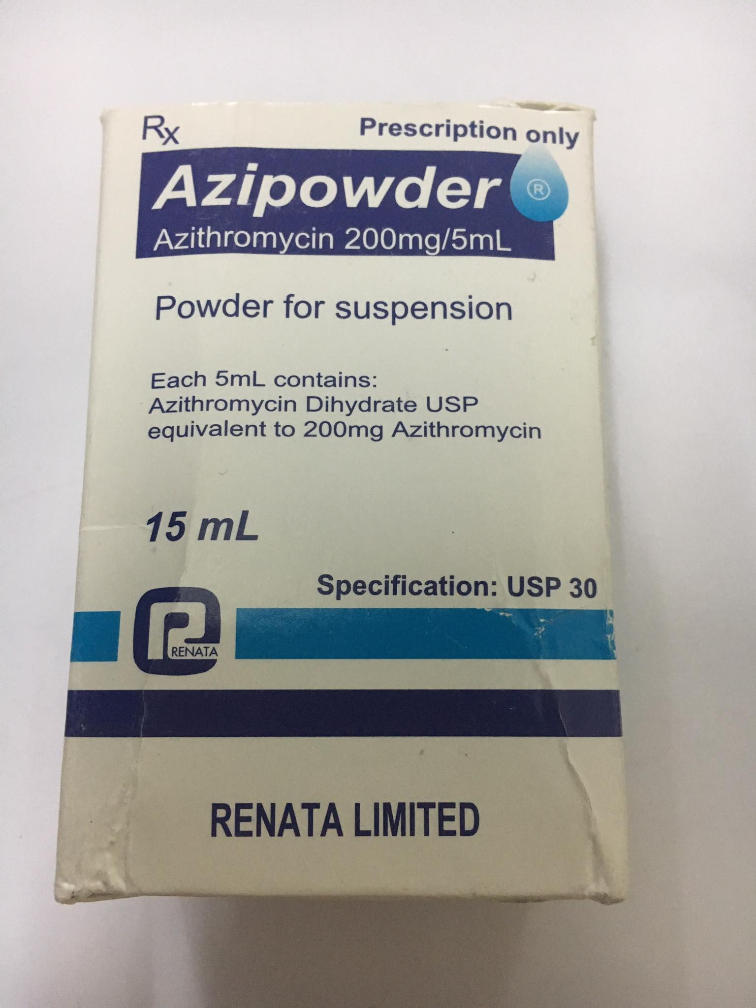 Azipowder 200mg/5ml
