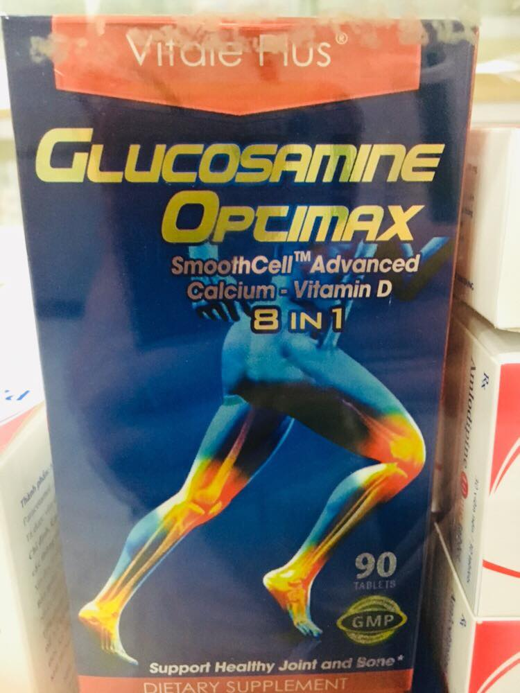 Glucosamine Optimax 90 viên