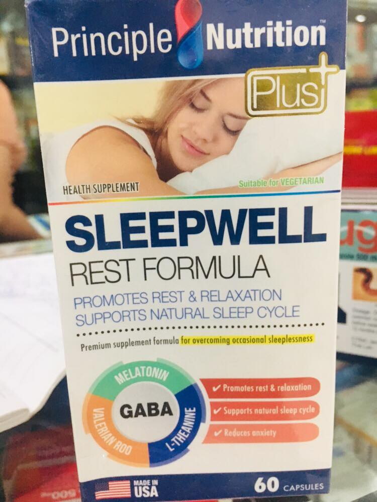 Sleep Well Principle Nutrition