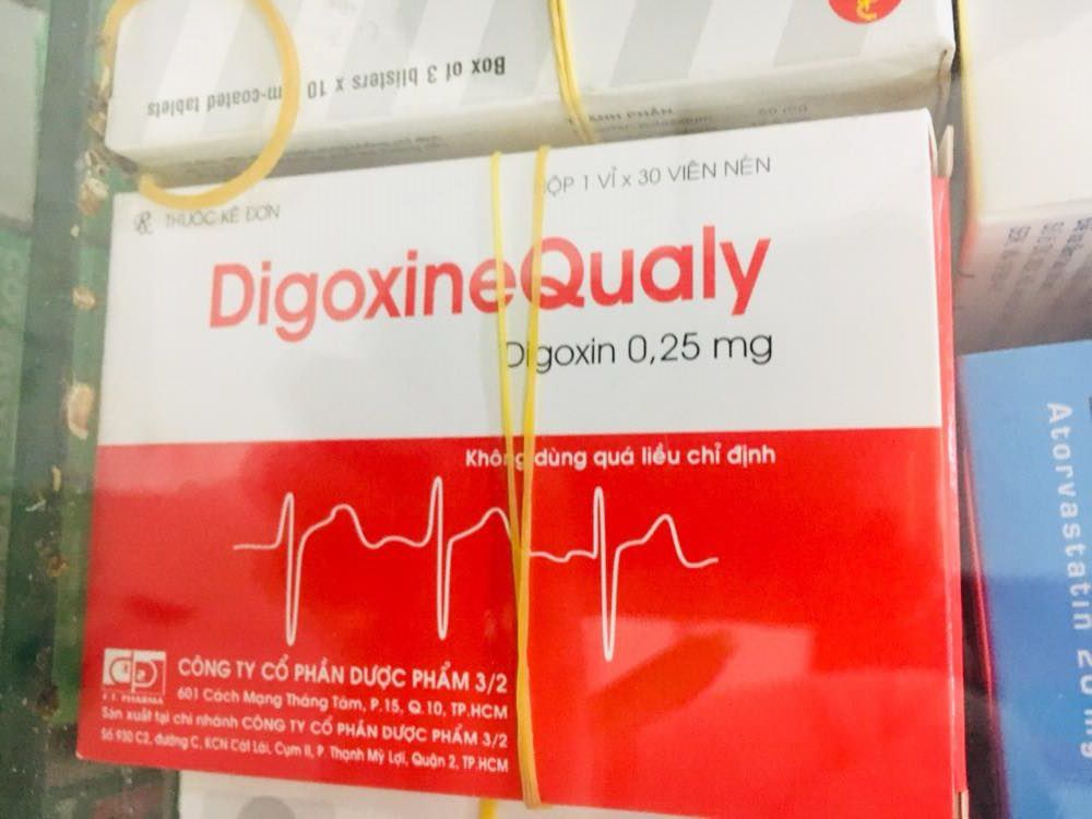Digoxine Qualy 0.25 mg