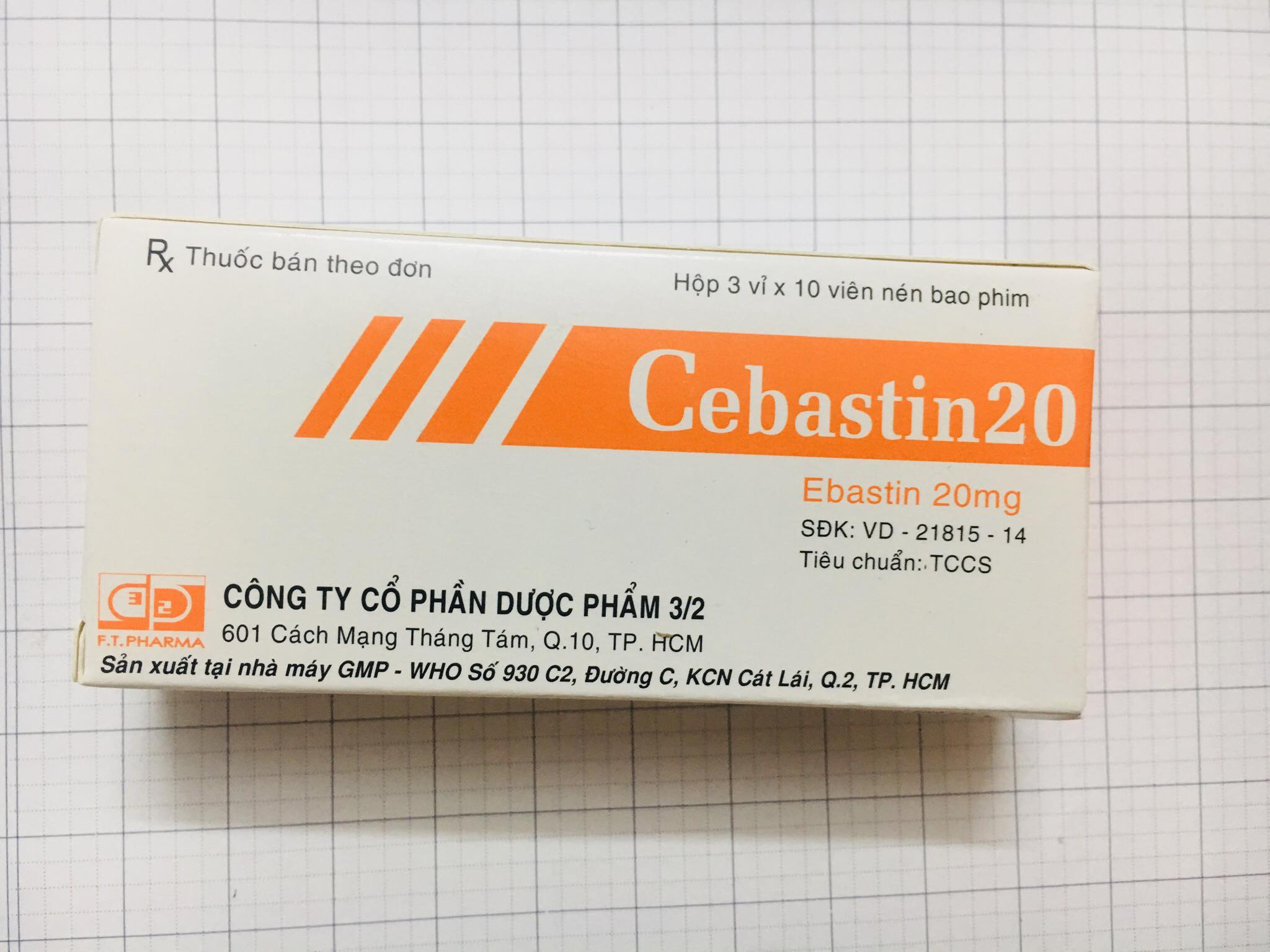 Cebastin 20mg