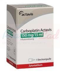 Carboplatin Actavis 150mg/15ml