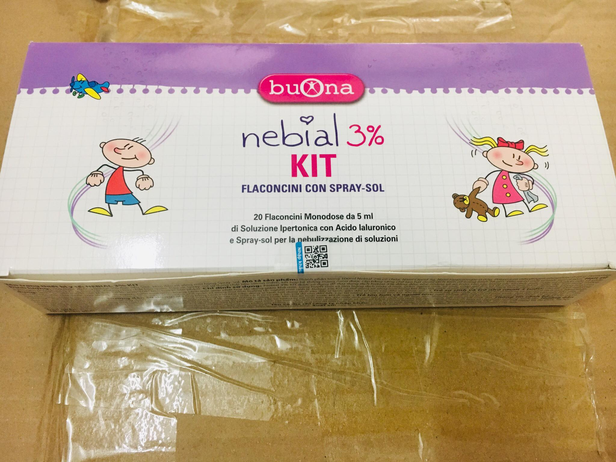 Nebial 3% kit