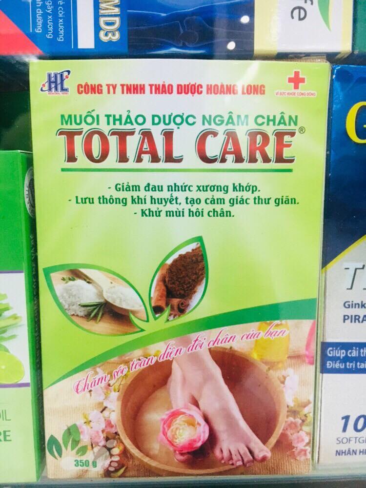 Muối Thảo Dược Ngâm Chân Total Care 350g