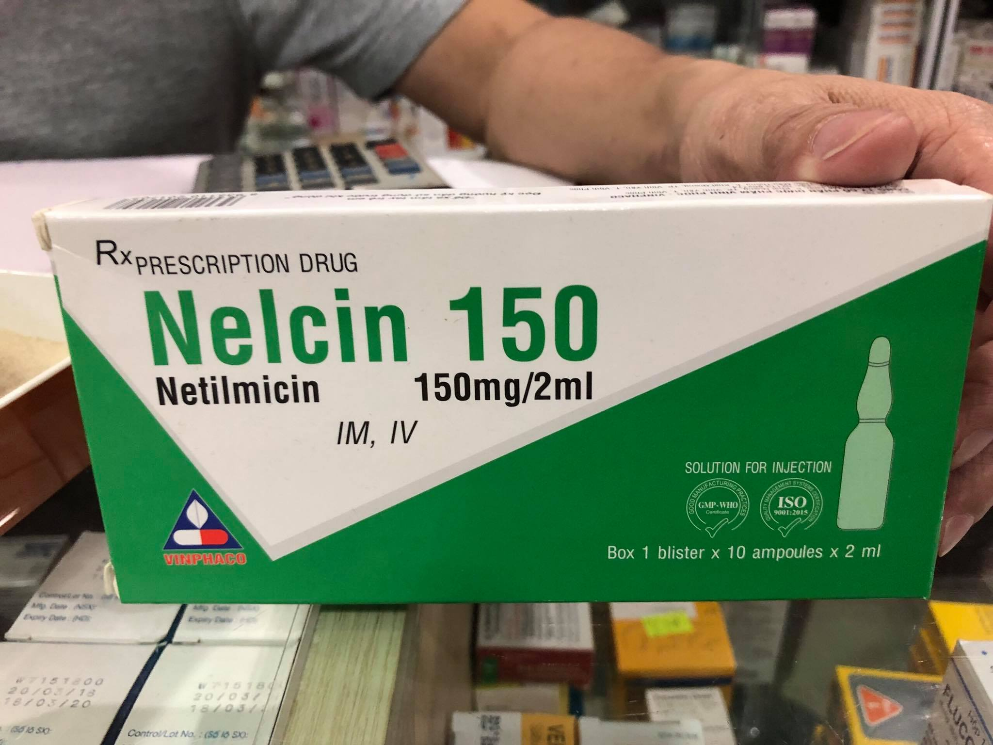 Nelcin 150mg/2ml