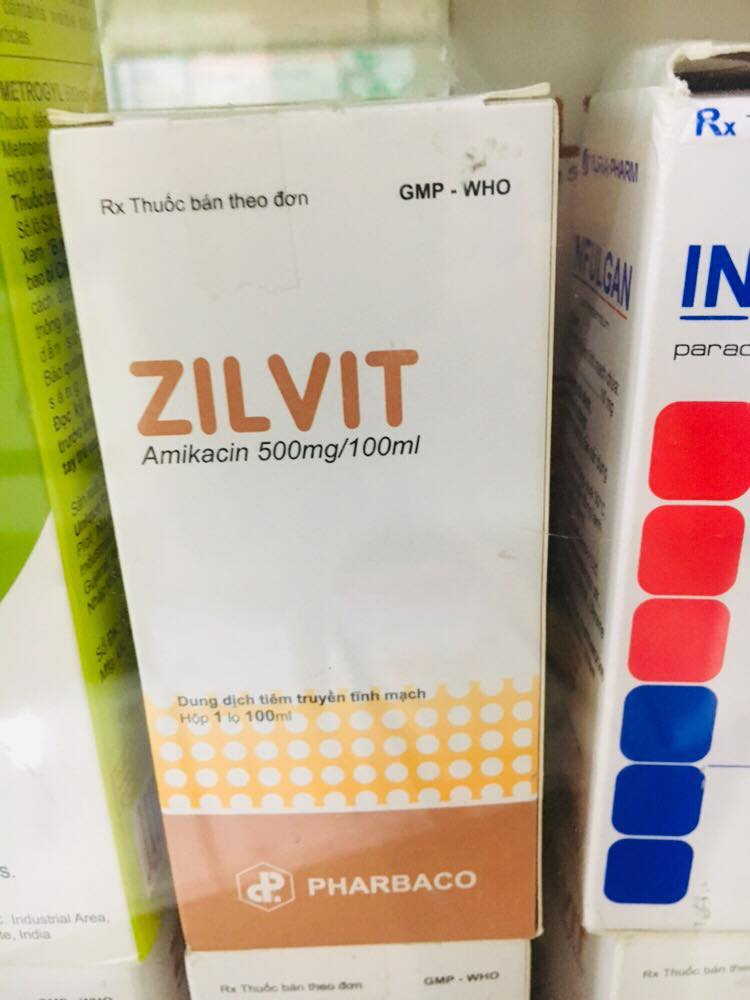 Zilvit 500mg/100ml