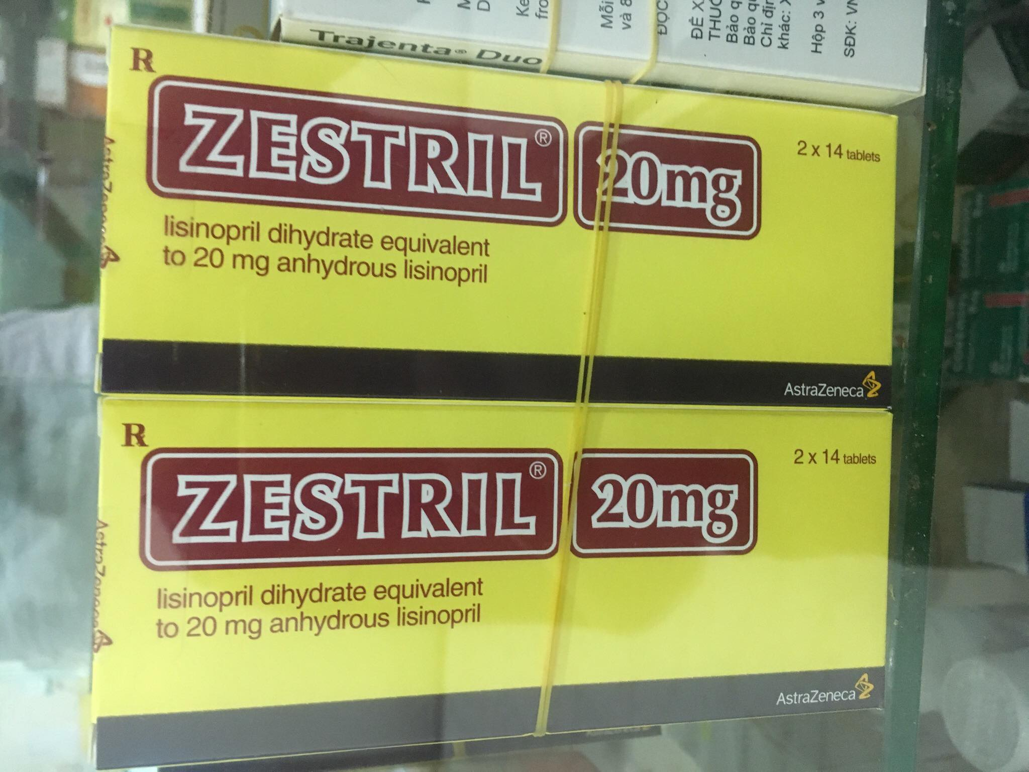 Zestril 20mg