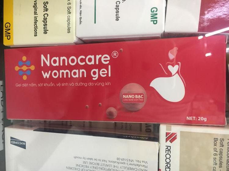 Nanocare woman gel 20g