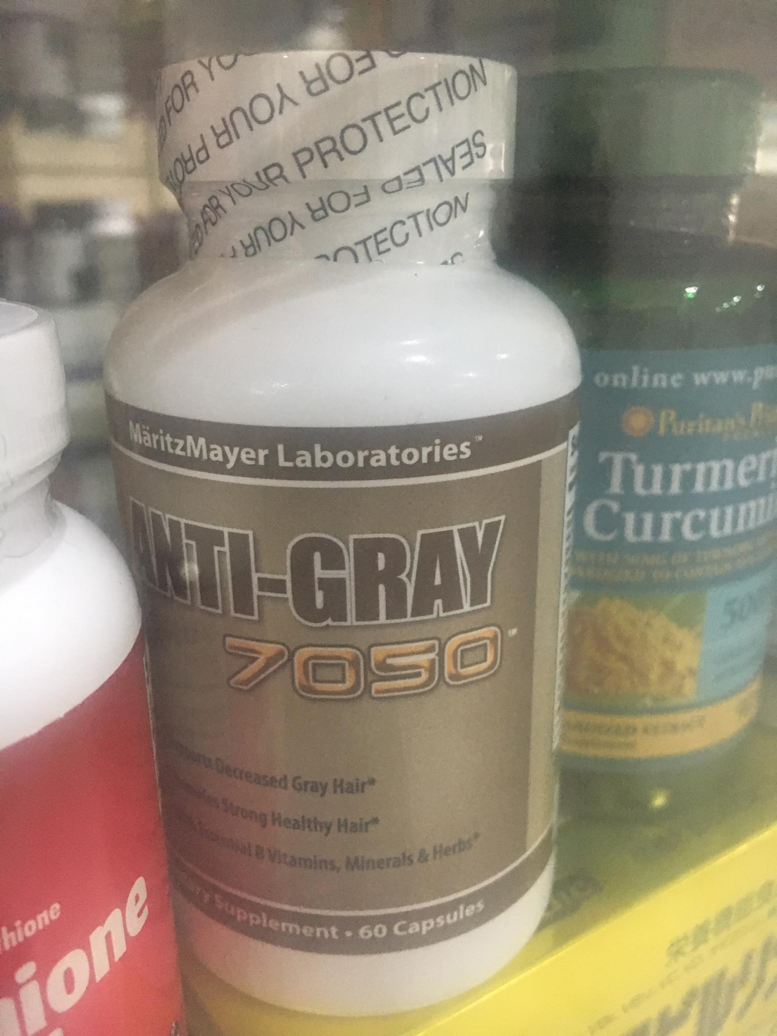 Anti Gray Hair 7050