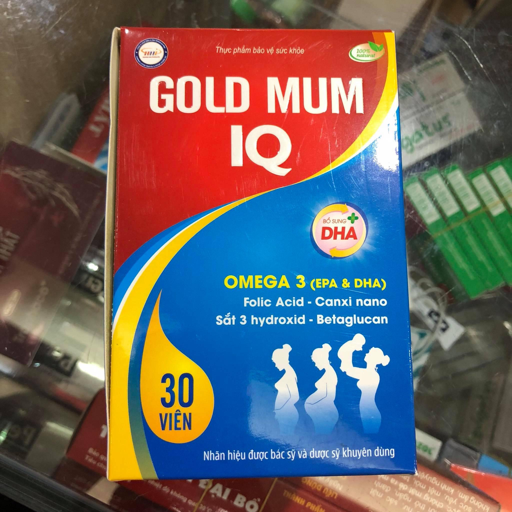 Gold Mum IQ