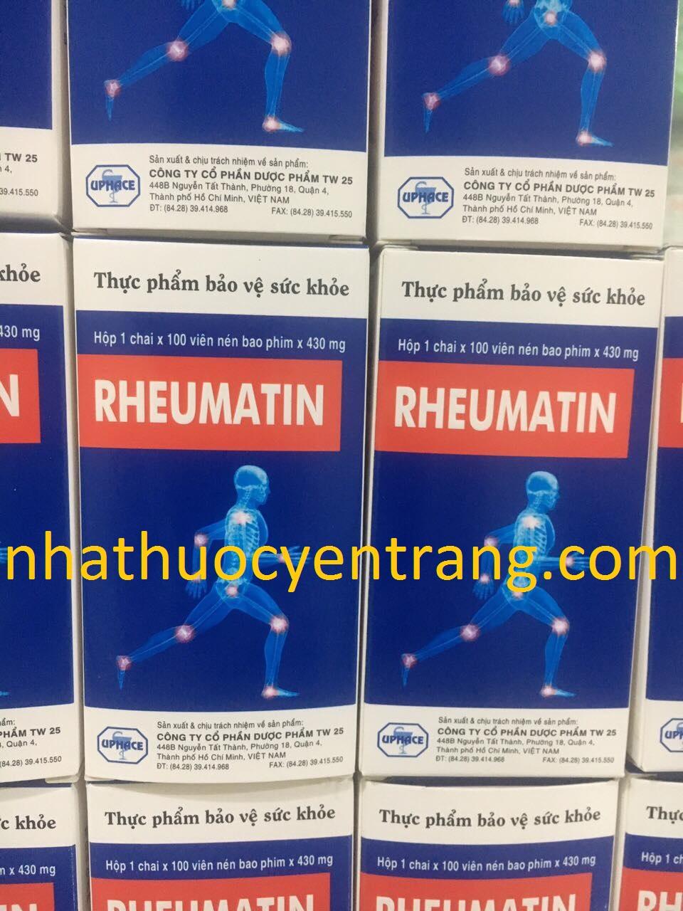 Rheumatin (100 viên)