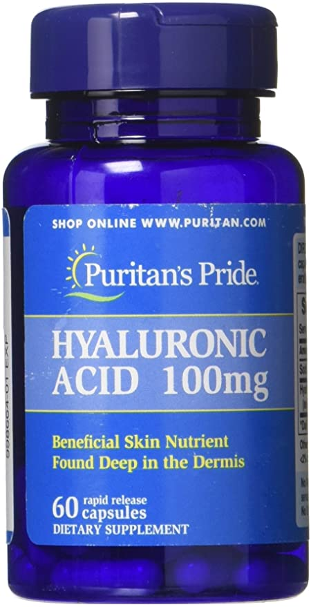 Puritan's Pride Hyaluronic Acid 100mg 60 viên