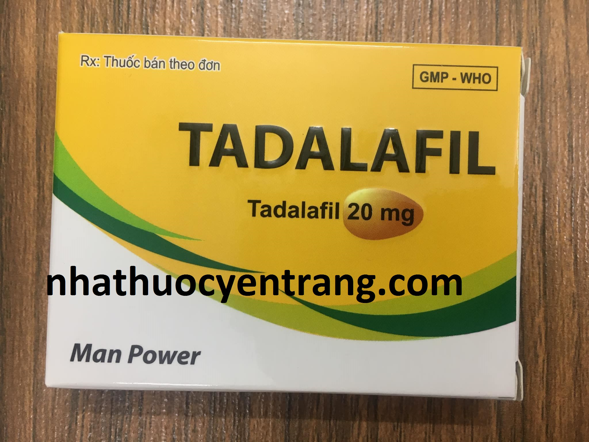 Tadalafil 20mg Man Power