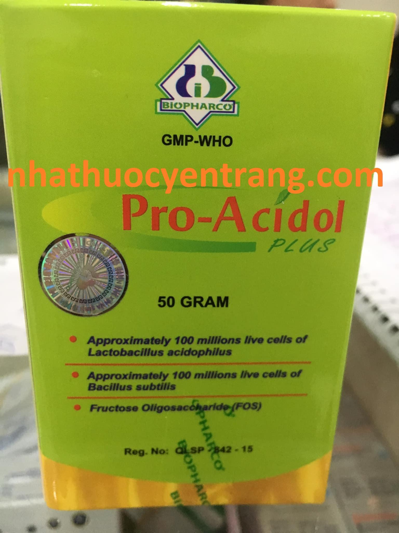 Pro Acidol Plus (lọ 50g)