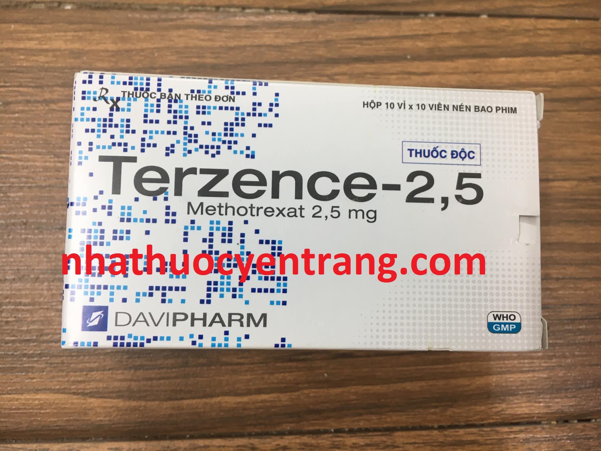 Terzence 2.5 mg