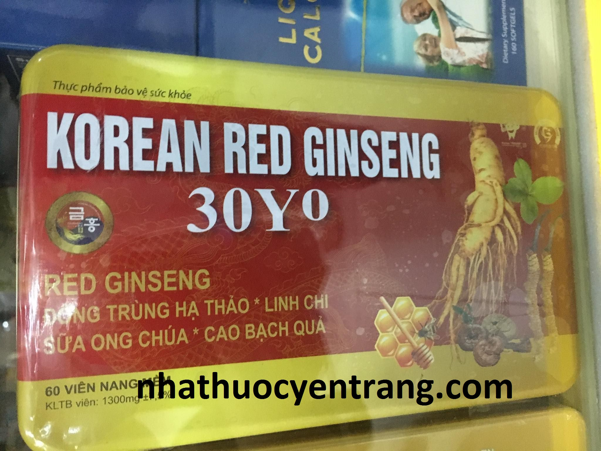 Korean Red Ginseng 30YO