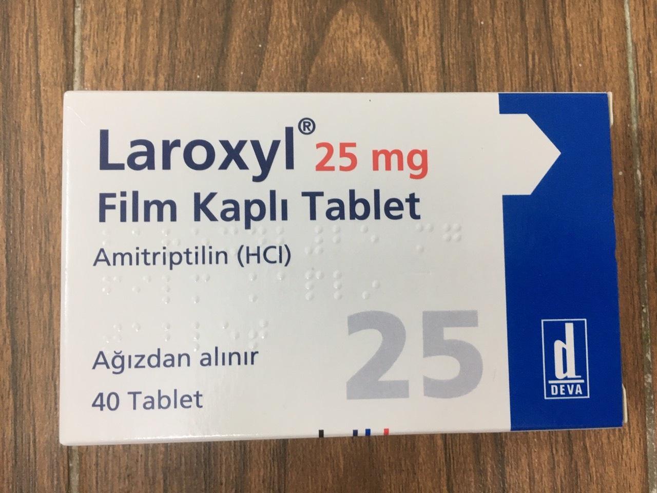Laroxyl 25mg (40 viên)