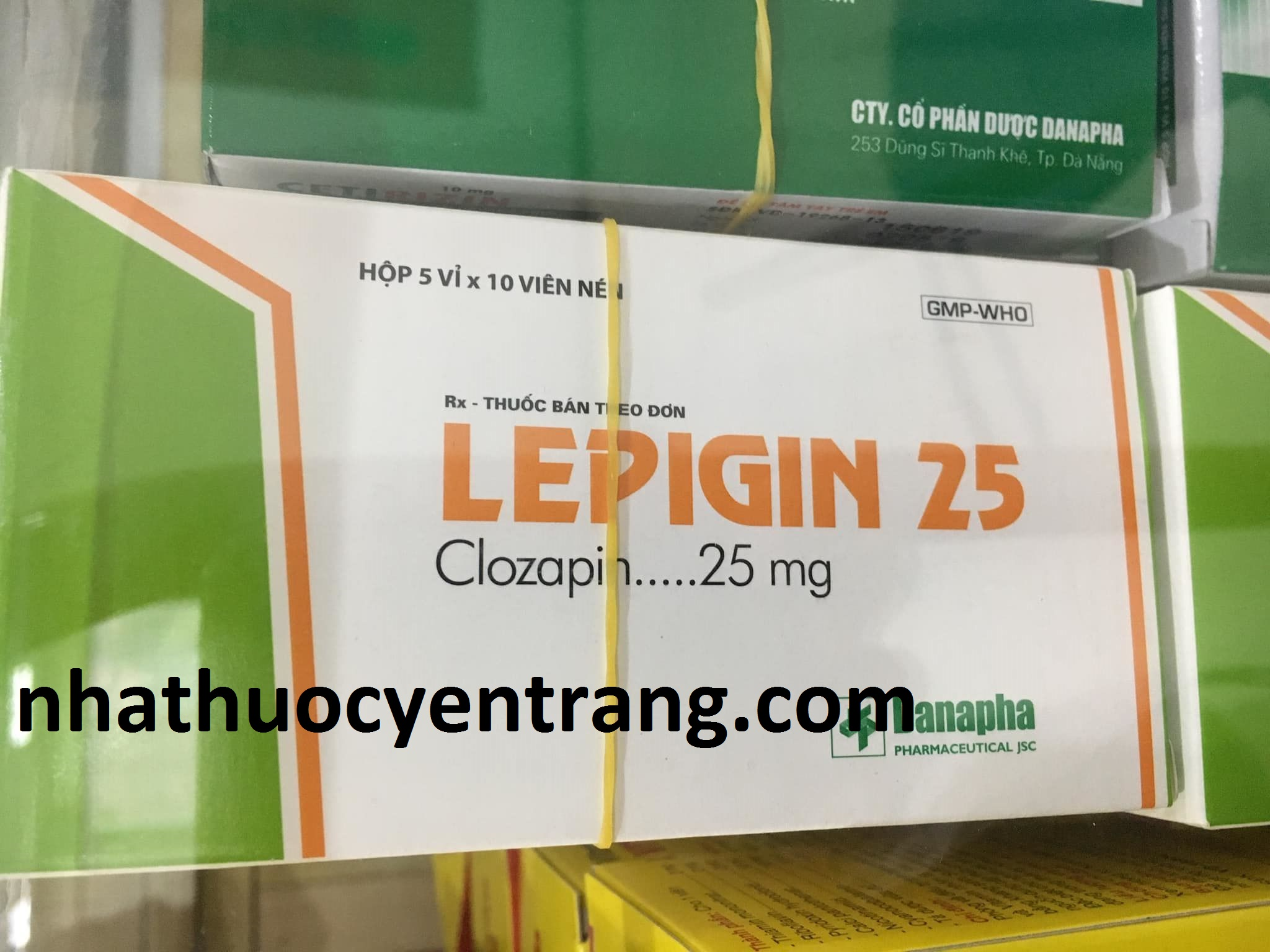 Lepigin 25mg