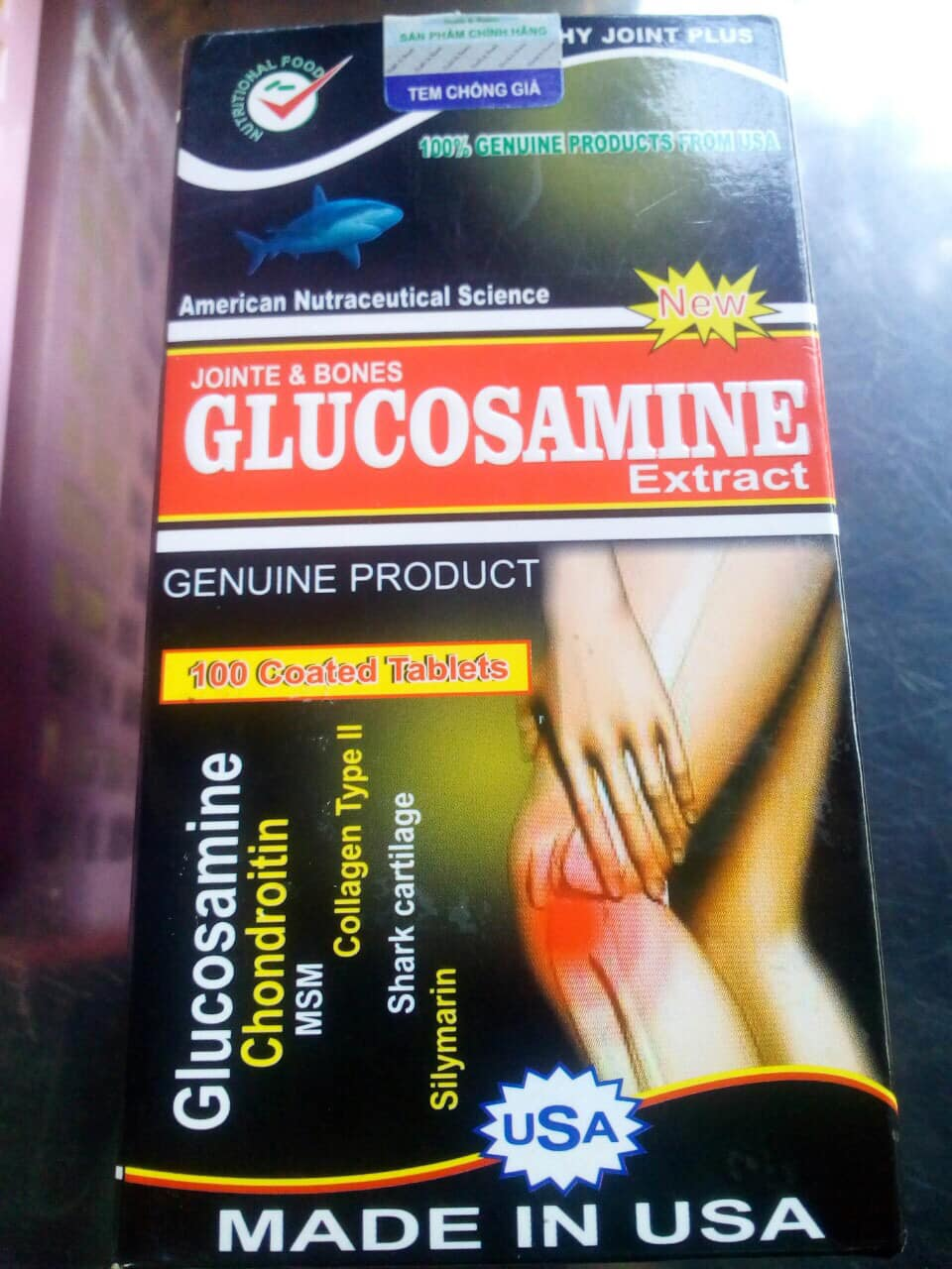 Glucosamine Extract 2400mg