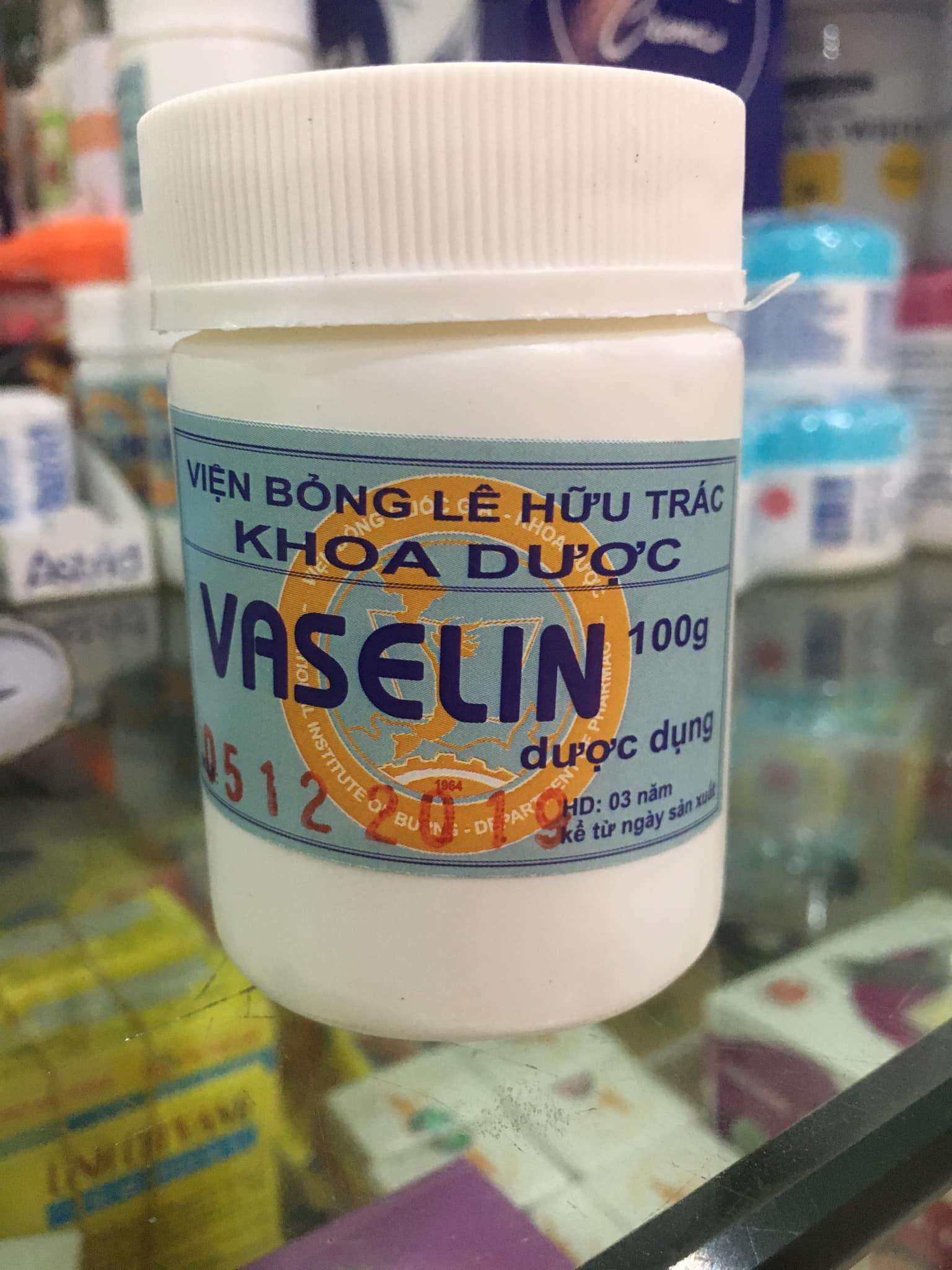 Kem nẻ Vaseline 100 g Viện Bỏng