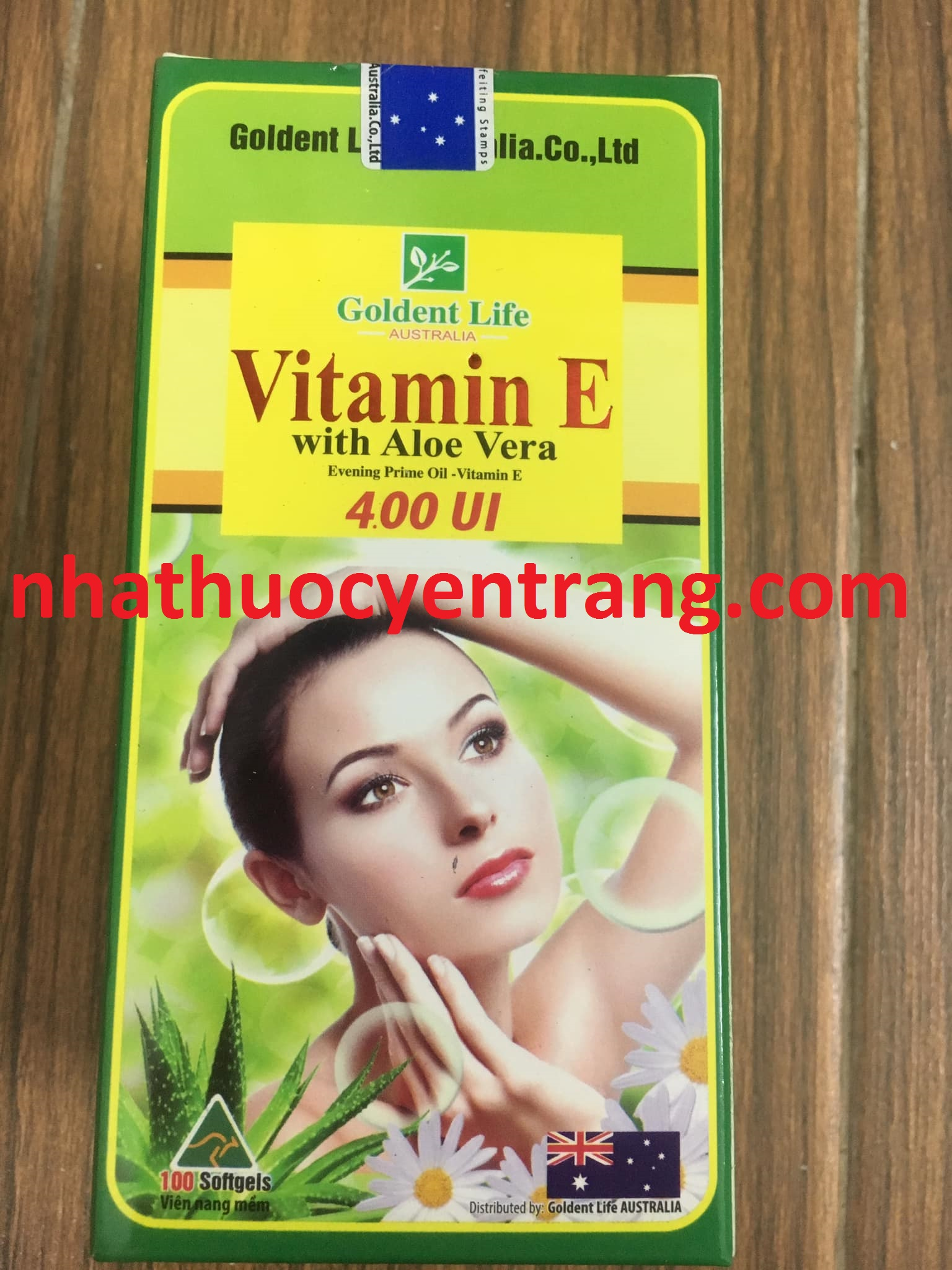 Vitamin E with  Aloe Vera 400 IU