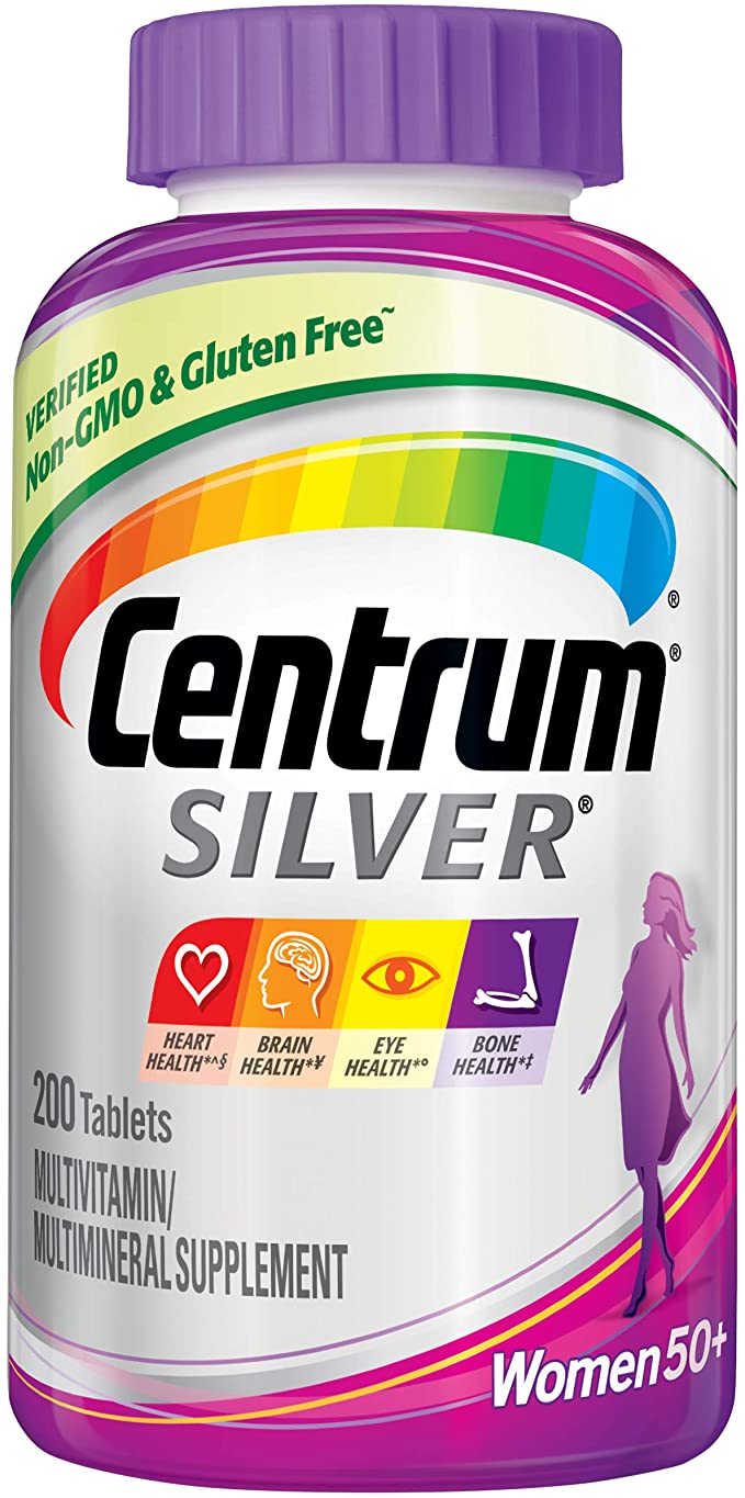 Centrum Silver Ultra women's 50+ 200 viên