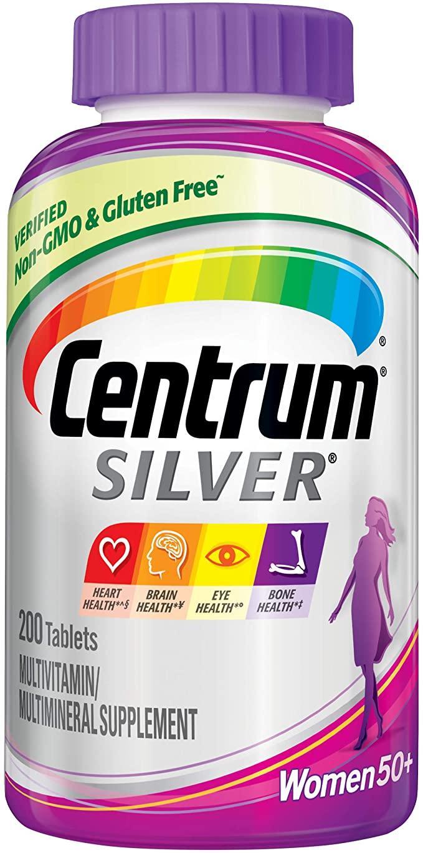 Centrum Silver Ultra women's 50+ 200 viên