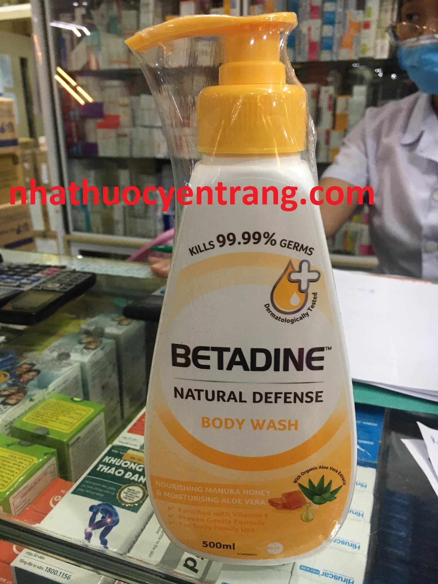 Sữa tắm Betadine