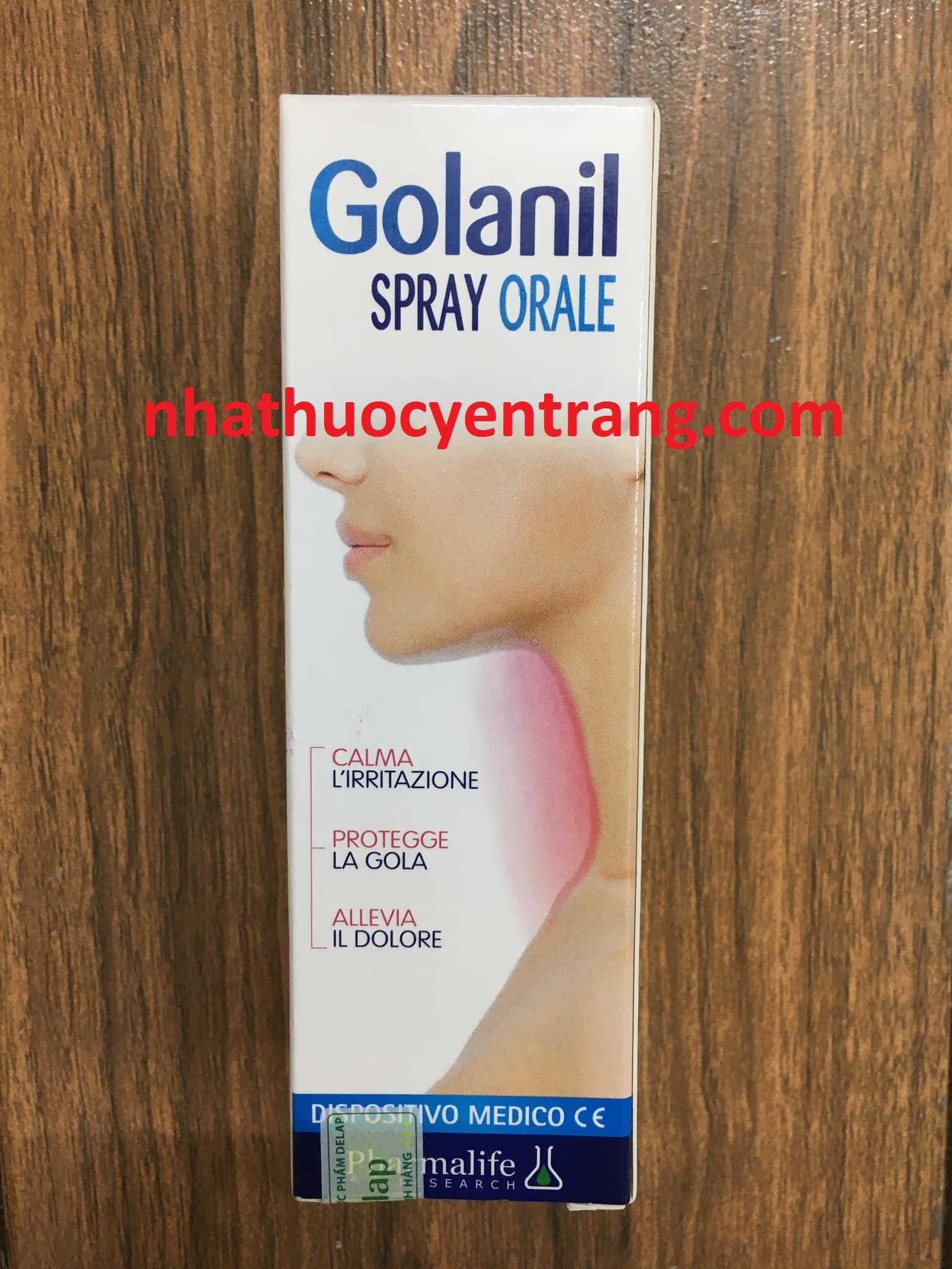 Golanil người lớn