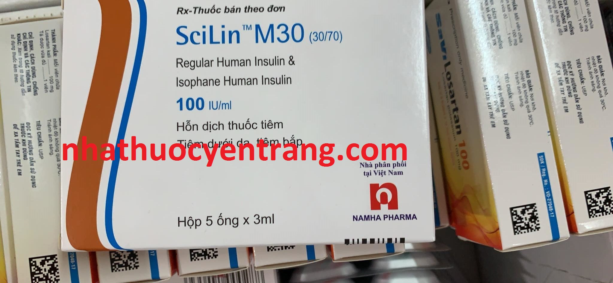 Scilin M30 (30/70) 100 IU/ml