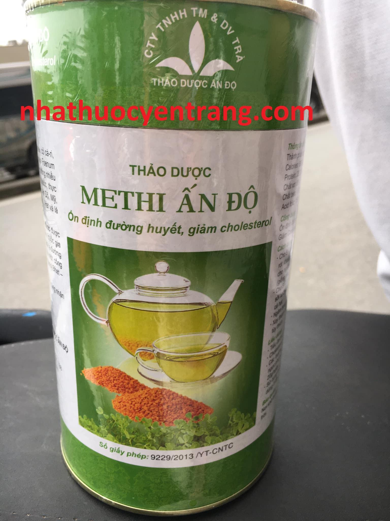 Thảo dược Methi Ấn Độ 500g