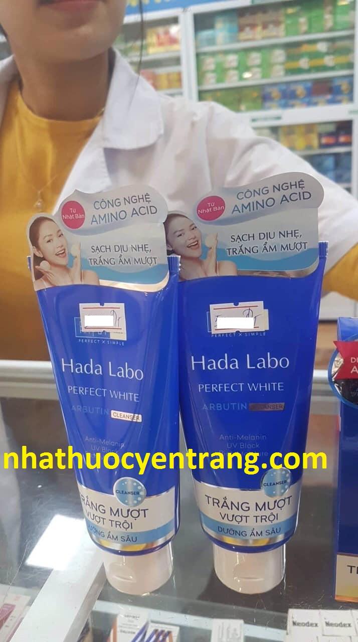 Sữa rửa mặt Hada Labo Perfect White 80g
