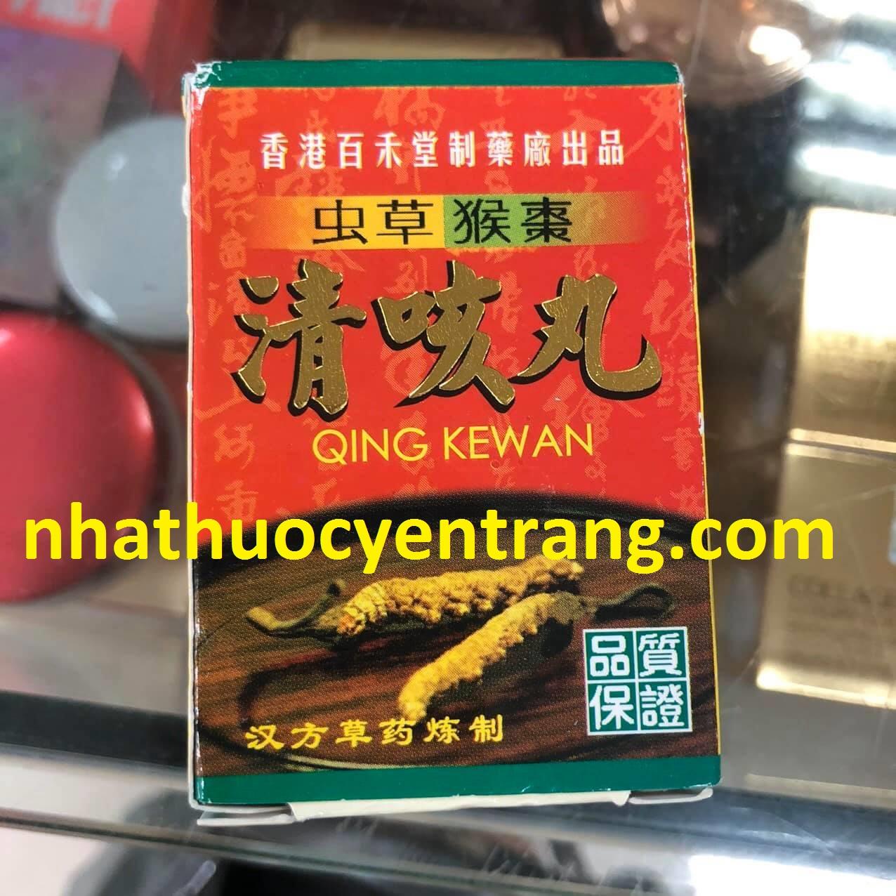 Thuốc Ho Đông Trùng Qing Kewan