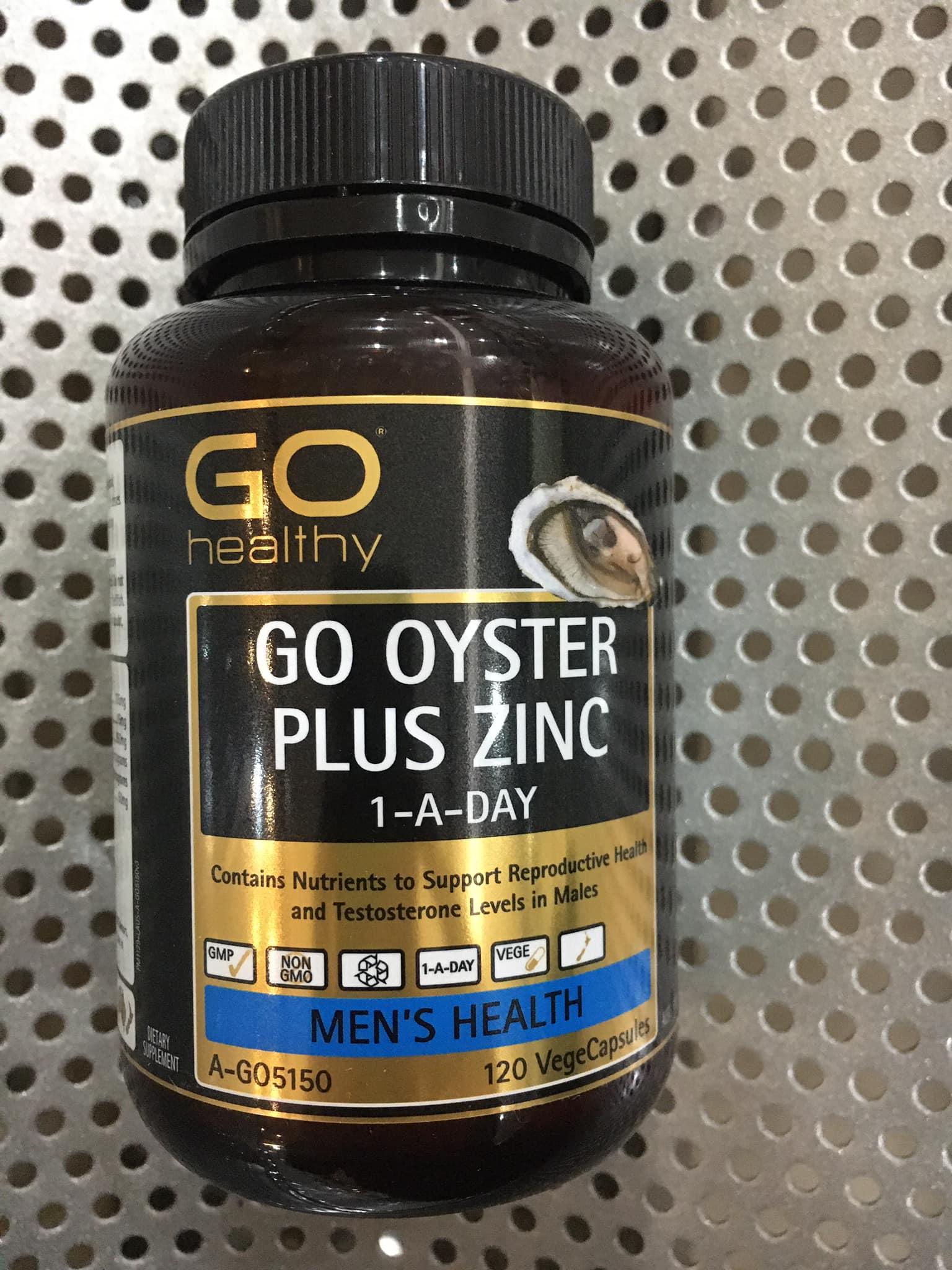 GO OYSTER PLUS ZINC 120 VIÊN